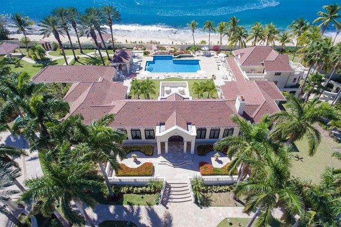 trump mansion villa at plum bay