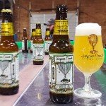White Ale on bottling line IG